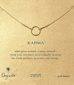 Dogeared Original Karma Necklace #Dillards