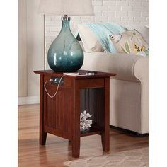 Found it at Wayfair - Orangetown Side Table with Charging Station