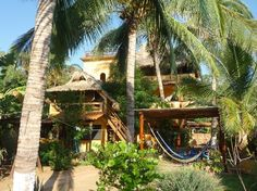 Puerto Escondido - stay at a funky house vs. a hotel