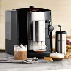 Built with the finest components and tested to last for cups Fully programmable - you set the size, strength and temperature of each cup Stainless steel dual spouts are height adjustable Electronic steam valve for heating and frothing milk Includes Coffee K Cups, Coffee Pods, Espresso Coffee, Drip Coffee Maker, Coffee Time, Miele Coffee Machine, Espresso Machine, Black Rock Coffee, Coffee Coupons