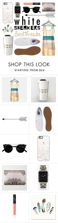 """What To Wear /// with White Sneakers"" by levon-3redthreads on Polyvore featuring Polaroid, Bend, Vans, Casetify and NARS Cosmetics"