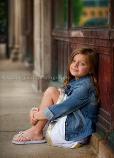 Sarah Gwidt Photography: Ahnna {a downtown children's session}