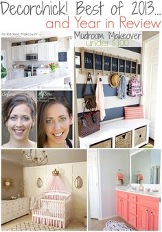 Top 13 Projects and Makeovers at Decorchick! | www.decorchick.com wwwdecorchickcom, blog