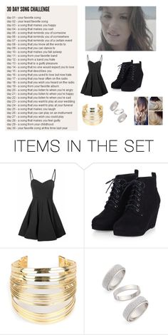 """Day 06: Skyscraper by Demi Lovato"" by mrs-jewels ❤ liked on Polyvore featuring art"