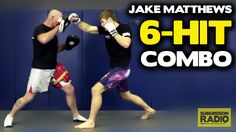 Effective striking combo - by UFC Lightweight Jake Matthews Boxing Training Workout, Muay Thai Training, Combat Training, Tactical Training, Boxing Techniques, Martial Arts Techniques, Self Defense Techniques, Kickboxing Workout, Cardio Workouts