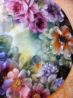 porcelain painting. Lolita de Smith