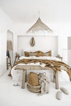 17 scandinavian bedroom designs that will amaze you 26 - Home Design Home Bedroom, Bedroom Decor, Bedroom Ideas, Bedroom Furniture, Bed Design, House Design, Home Decor Paintings, Boho Living Room, Home Decor Trends