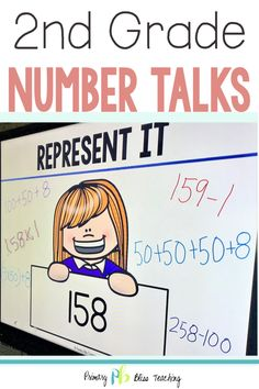 Your second grade students will absolutely LOVE these highly engaging math talk activities. They are common core aligned and so much fun for students! Grab your set today and watch as your students' number sense abilities soar to new heights! First Grade Lessons, Teaching First Grade, Second Grade Math, Math Lessons, Math Fact Practice, Math Talk, Math Fact Fluency, Number Talks, Math Graphic Organizers