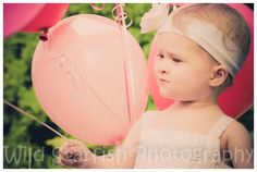 pretty pink balloons!