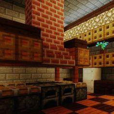 Minecraft Kitchen
