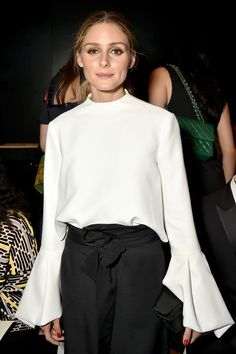 Olivia Palermo attends the Lanyu fashion show during the September 2016 New York Fashion Week: The Shows at The Dock, Skylight at Moynihan Station on September 13, 2016 in New York City.