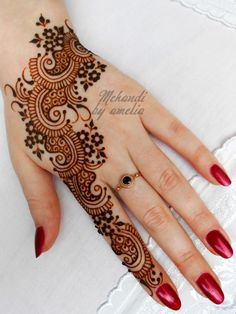 Mehndi Henna Designs New for Bridals - Fashion Fist (5)