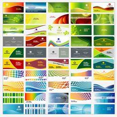 150 Vector Business Card Templates