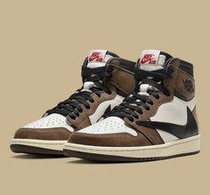 97abe250977 Travis Scott x Jordan 1 Jordan 1, Jordan Shoes, Novo Nike, Nike Kyrie