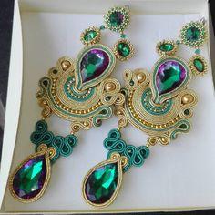 Our Expert Jewelry Advice Will Impress You - Tiesy Ribbon Jewelry, Feather Jewelry, Fabric Jewelry, Boho Jewelry, Beaded Jewelry, Soutache Necklace, Diy Necklace, Beaded Earrings, Earrings Handmade