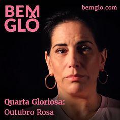 """Hoje a Gloria fala sobre sua participação na campanha """"Se toque contra o câncer de mama"""" e conta como é importante colocar a saúde em primeiro lugar.  #bemglo #quartagloriosa #outubrorosa"""