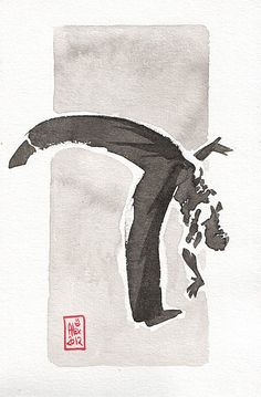 Encres : Capoeira - 205 [ #capoeira #ink #painting ] by French Artist: Alexandre Guillaume