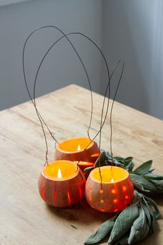 make your own: squash lanterns. – Reading My Tea Leaves – Slow, simple, sustainable living.