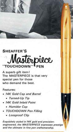 Sheaffer Fountain pens 1958-2003