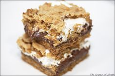 S'more Cookie Bars- want to try these!
