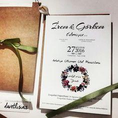 #davetiye #tasarimdavetiye #invitation #loveiseverywhere #motto #askheryerde #dugun #davetiye #vintage #bohem #bohemian #vintagedavetiye