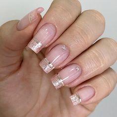 Super pretty nail art designs that worth to try 21 Manicure Nail Designs, Cute Acrylic Nail Designs, Beautiful Nail Designs, Cute Acrylic Nails, Manicure And Pedicure, Elegant Nails, Stylish Nails, Jolie Nail Art, Nail Designer