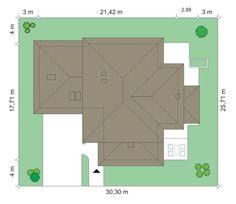 Projekt domu Dom z Widokiem 4 on Behance Bar Chart, Floor Plans, Diagram, Behance, Houses, Design, Home Plans, Country, Homes
