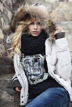 Beautiful winter jacket Nickelson #winter2013