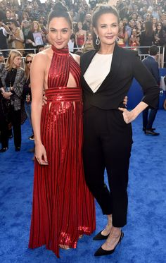 Wonder Women! Gal Gadot and Lynda Carter Unite at L.A. Premiere of Wonder Woman