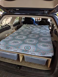 Im not a fan of tents to I built this bed platform for my Subaru Outback. Auto Camping, Truck Tent Camping, Stealth Camping, Minivan Camping, Tent Camping Beds, Outback Car, Outback Campers, Subaru Outback Offroad, Pallet Furniture