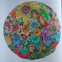 #exotischerurwald #goodwivesandwarriors #adultcolouringbook #coloriage #coloringbook #polychromos