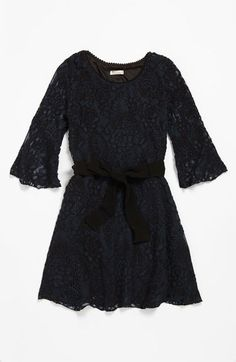 Sally Miller Crochet Dress (Big Girls) | Nordstrom