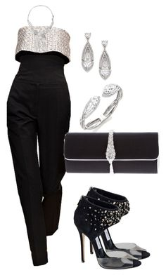 Untitled #438 by polyvoreinc on Polyvore featuring polyvore fashion style Roberto Cavalli Adriana Orsini Christian Dior