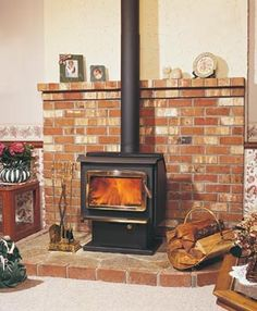 This is sort of similar to the current set up. I do want the new stove to have a window.