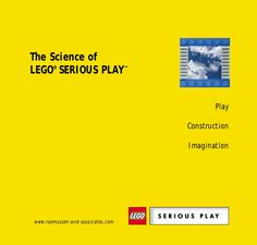 Science of LEGO Serious Play (LSP) by David Espinosa via slideshare