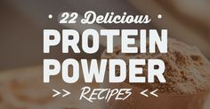22 Delicious Protein Powder Recipes (That Are NOT Shakes!). Depending on the type of workout and your body weight, a post-workout meal should contain 15-25 grams of protein for proper muscle recovery. Plus carbohydrates to replenish the glycogen, making a shake that combines hydrating liquid, fruit and protein powder an easy choice. But do you ever...