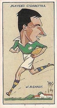 Player's Cigarette Card - Irish Rugby, J. Australia Rugby, Irish Rugby, Nice Body, Back In The Day, Liverpool, Ireland, Disney Characters, Fictional Characters