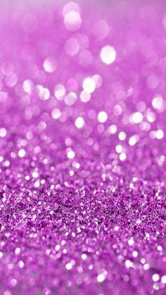 Purple wallpaper by ____S White Glitter Wallpaper, Purple Glitter Background, Glitter Phone Wallpaper, Sparkle Wallpaper, Bubbles Wallpaper, Glitter Gif, Cute Emoji Wallpaper, How To Hang Wallpaper, Cellphone Wallpaper