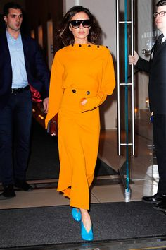 Victoria Beckham Off Duty Style File - Image 4 : Harper's BAZAAR