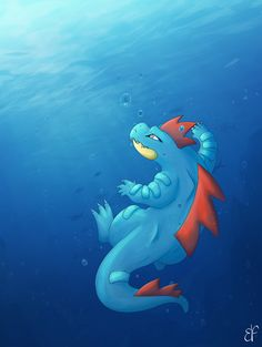 Fanart of Feraligatr (Pokemon)
