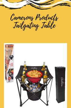 Camerons Products Tailgating Table Tailgate Table, Tailgating, Outdoors, Sports, Products, Hs Sports, Outdoor Rooms, Sport, Off Grid
