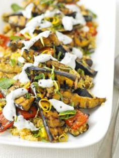Vegetarian  - Low FODMAP & Gluten Free Recipe - Spiced vegetables with lemony quinoa - http://www.ibscuro.com/spiced_vegetables_lemony_quinoa.html