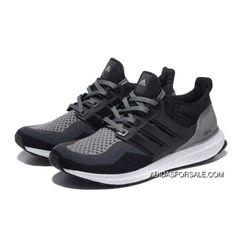 4ac6f671216aa Adidas Ultra Boost Men Black Grey Super Deals