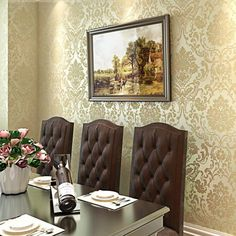 Shabby Chic, Room, Wall Wallpaper, Creative Lighting, Wallpaper, Wall, Home Decor, Loft Style, Textured Wallpaper