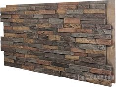 indoor stone veneers | VWVortex.com - Interior stacked stone...without the stone