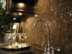 Make your wall tile shine with under cabinet lighting from American Lighting.