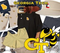 Georgia Tech tailgating fashion