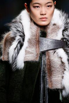 Fendi Fashion show & more Luxury details