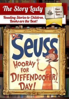 Dr. Seuss – Hooray for Diffendoofer Day. I hope i can find this book because i love it and my girls should have it!