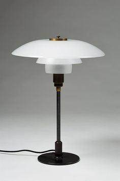 Table lamp PH 4/3, 1930s, Poul Henningsen for Louis Poulsen, Denmark